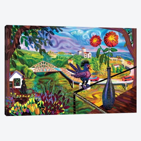 Zipolite Canvas Print #HRK176} by Charles Harker Canvas Wall Art