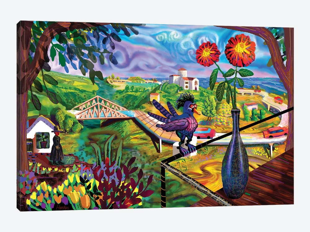 Zipolite by Charles Harker 1-piece Canvas Print