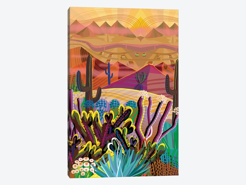 High On A Mountain Top by Charles Harker 1-piece Canvas Wall Art