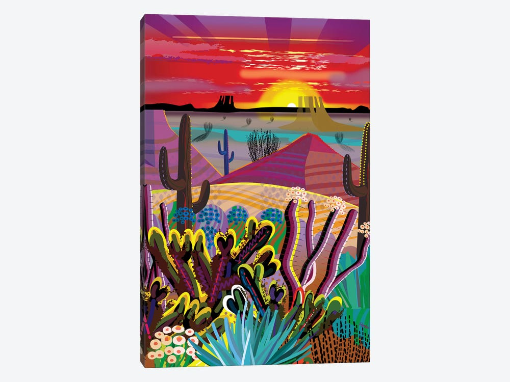 The Desert In Your Mind by Charles Harker 1-piece Art Print