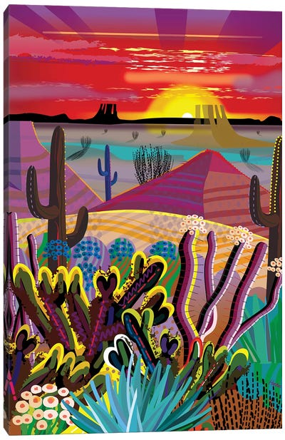 The Desert In Your Mind Canvas Art Print