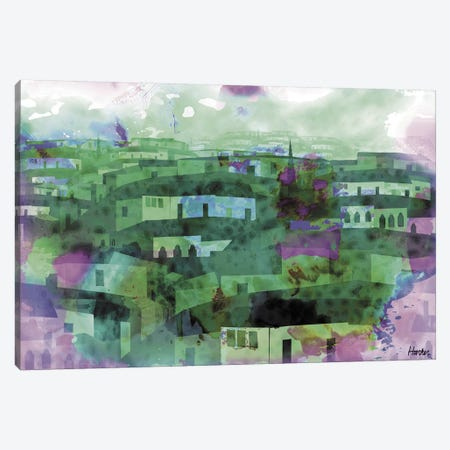 During The Rain Canvas Print #HRK183} by Charles Harker Canvas Artwork