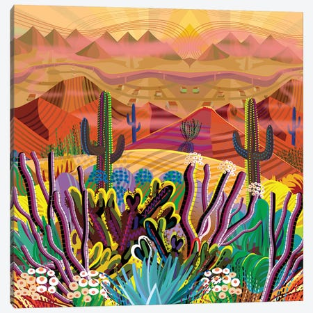 Paradise Valley Canvas Print #HRK187} by Charles Harker Art Print