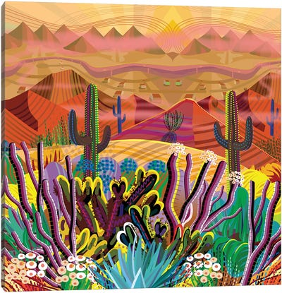 Paradise Valley Canvas Art Print