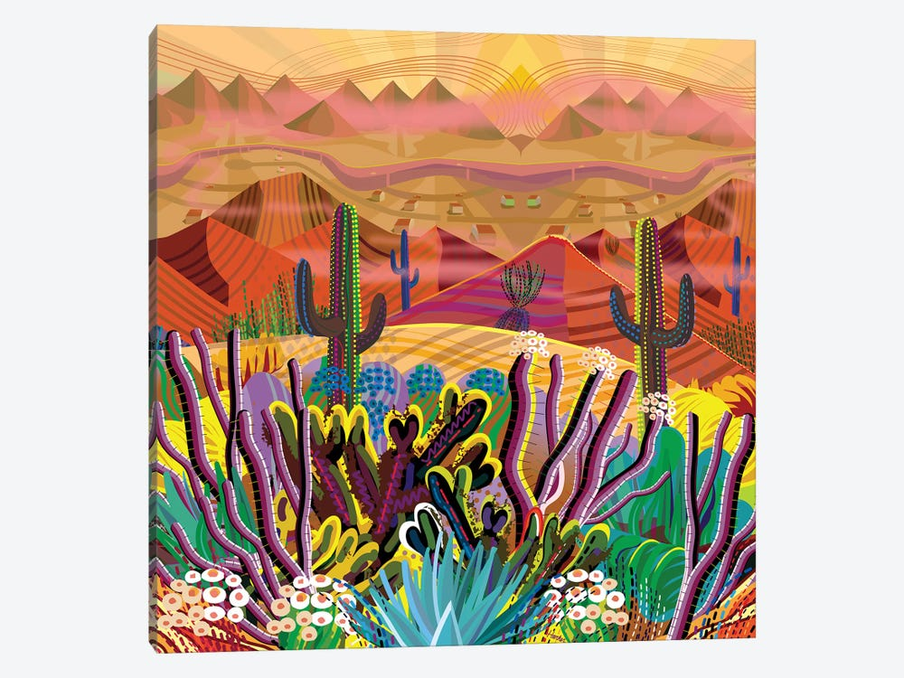 Paradise Valley by Charles Harker 1-piece Canvas Print