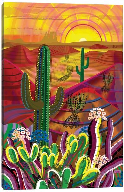 Peyote Dawn Canvas Art Print