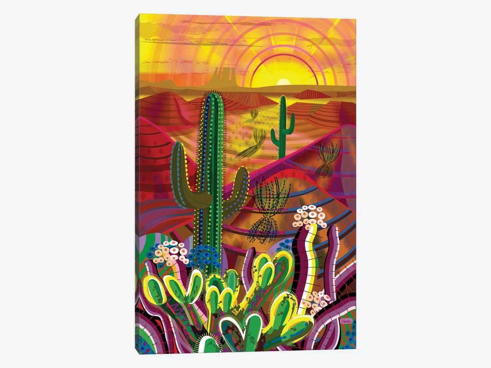 Peyote Dawn 1-piece Canvas Wall Art