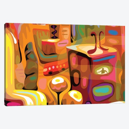 Kiss Me In Cuauhtemoc Canvas Print #HRK18} by Charles Harker Canvas Artwork
