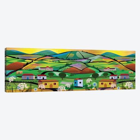 Tea Plantation Canvas Print #HRK193} by Charles Harker Canvas Print
