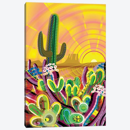Zacaton Canvas Print #HRK195} by Charles Harker Canvas Artwork