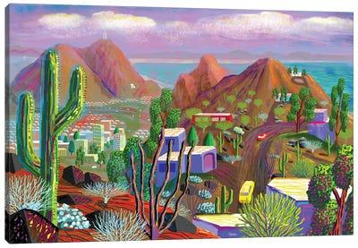 Phoenix After California Falls In The Ocean Canvas Art Print