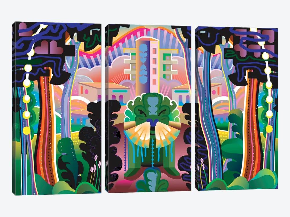 Kudzu by Charles Harker 3-piece Canvas Print