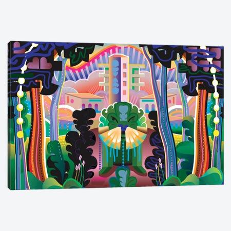 Kudzu Canvas Print #HRK19} by Charles Harker Canvas Artwork