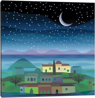 Island Moon Canvas Art Print
