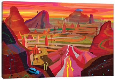 Science City Canvas Art Print