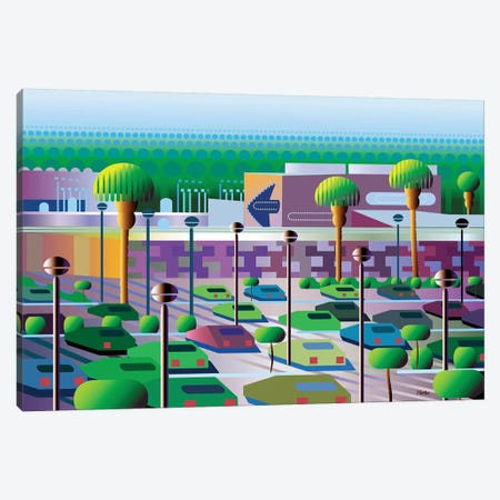 Silicon Valley Canvas Print #HRK209} by Charles Harker Art Print