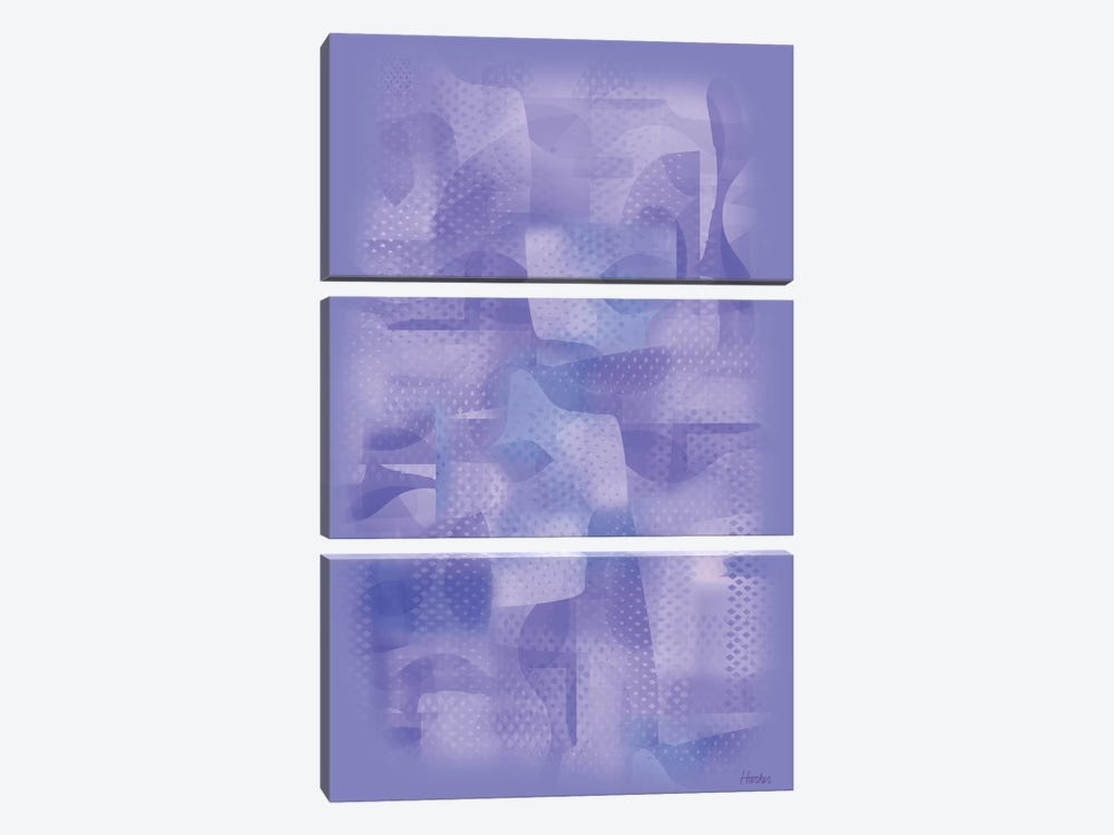 Almost Blue by Charles Harker 3-piece Canvas Artwork