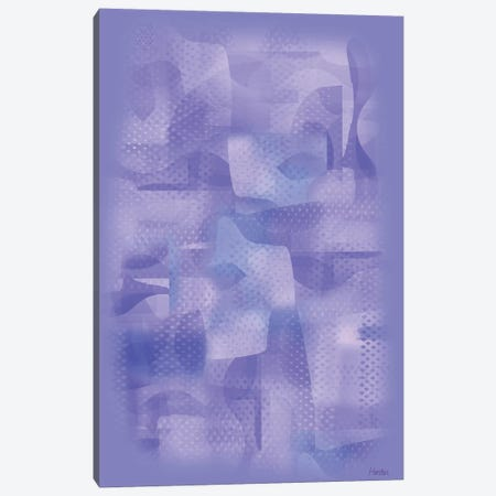 Almost Blue Canvas Print #HRK217} by Charles Harker Canvas Print