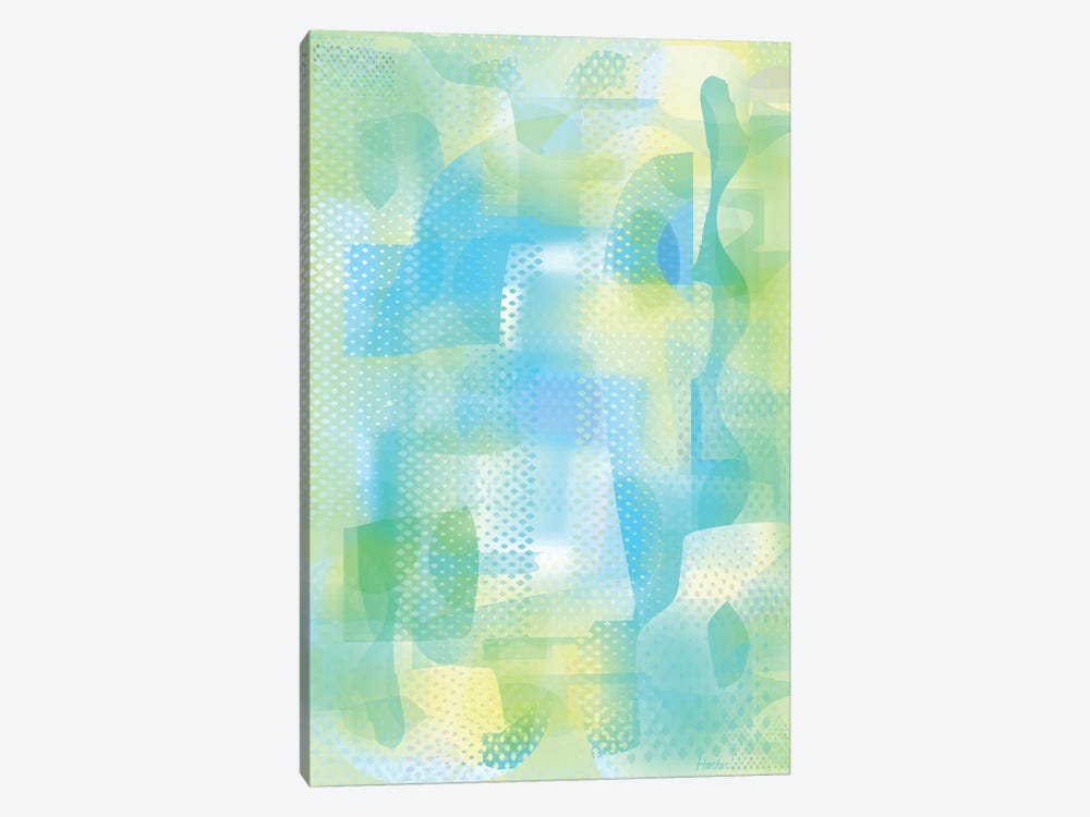 Turquoise Ether by Charles Harker 1-piece Art Print