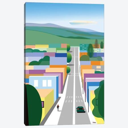 San Luis Obispo Canvas Print #HRK222} by Charles Harker Canvas Art Print