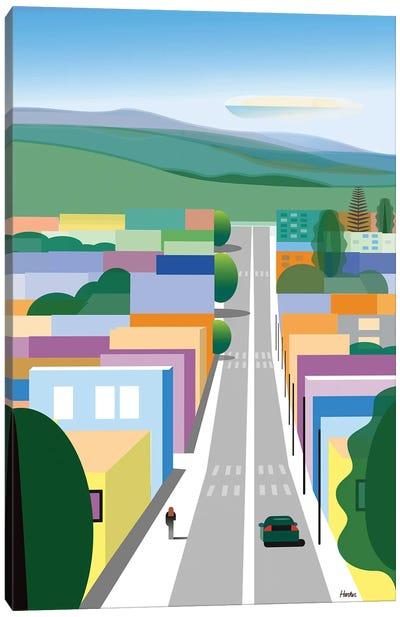San Luis Obispo Canvas Art Print