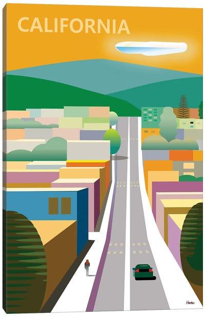 California Poster Canvas Art Print