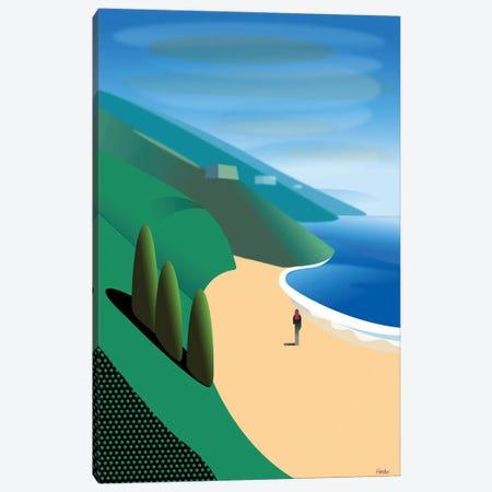 San Gregorio Beach Canvas Print #HRK227} by Charles Harker Canvas Artwork