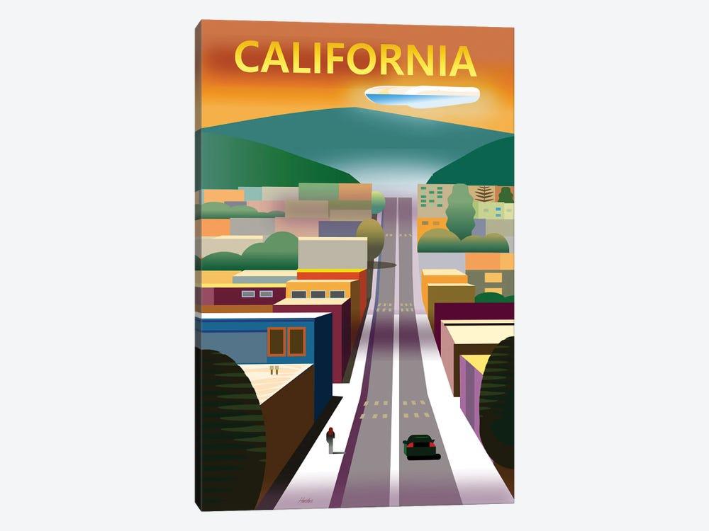 California Street by Charles Harker 1-piece Canvas Art Print