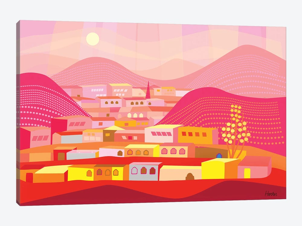 Bisbee by Charles Harker 1-piece Canvas Print