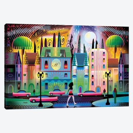 Hollywoodland Canvas Print #HRK237} by Charles Harker Art Print