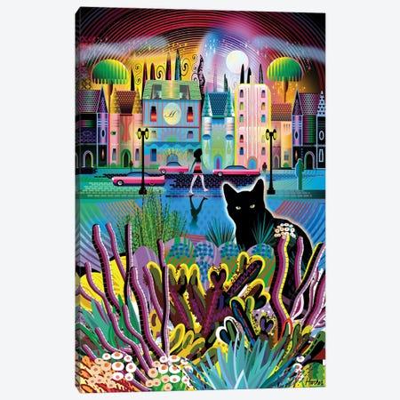 Black Magic Canvas Print #HRK240} by Charles Harker Canvas Art Print