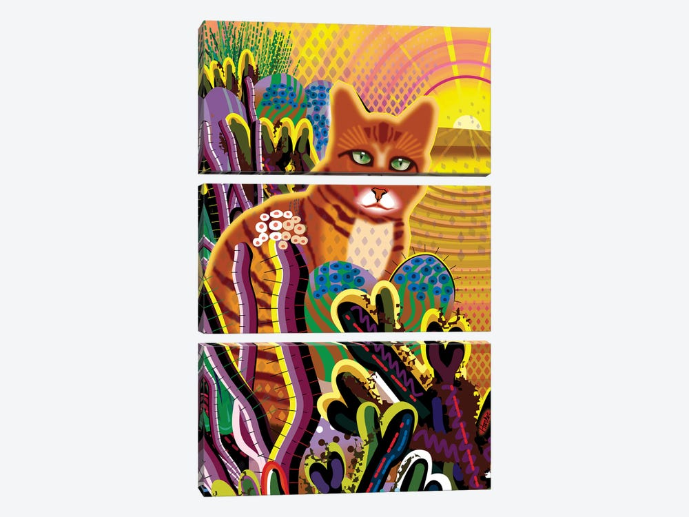 Coco by Charles Harker 3-piece Canvas Print