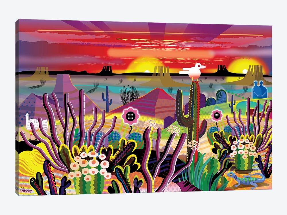 Garden Of Eden by Charles Harker 1-piece Canvas Wall Art