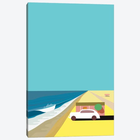 Mar de Cortez Canvas Print #HRK24} by Charles Harker Canvas Wall Art