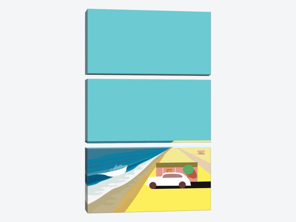 Mar de Cortez by Charles Harker 3-piece Canvas Print
