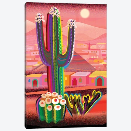 Zacatecas Canvas Print #HRK258} by Charles Harker Canvas Artwork
