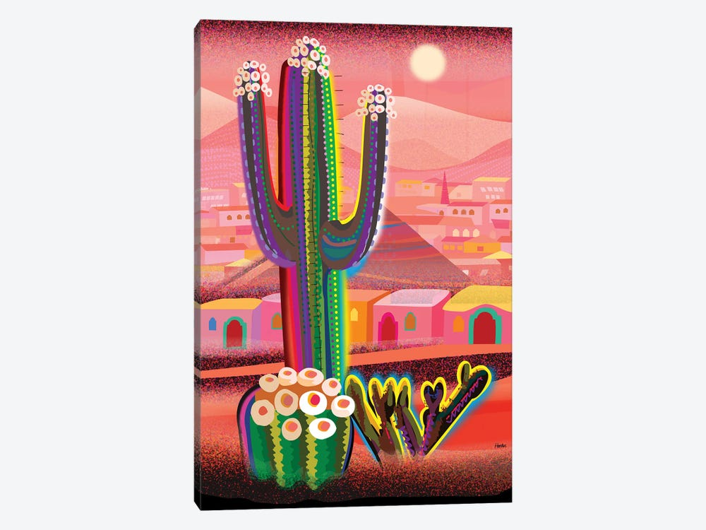 Zacatecas by Charles Harker 1-piece Canvas Print