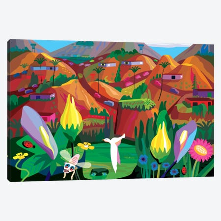 Marin County-The Hills Have Eyes Canvas Print #HRK25} by Charles Harker Canvas Art