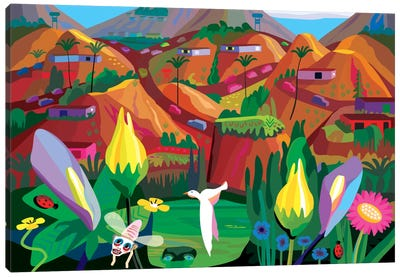 Marin County-The Hills Have Eyes Canvas Art Print