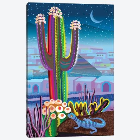 Blue Night Desert Canvas Print #HRK261} by Charles Harker Canvas Print