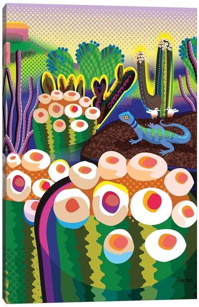 Cactus Park Canvas Art Print