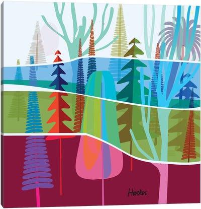 Torrey Pines Canvas Art Print