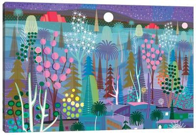 Moon Over Tijuana Canvas Art Print