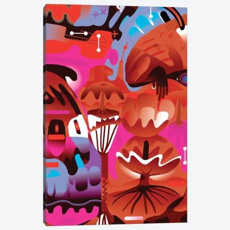 Brain In Love Canvas Print #HRK2} by Charles Harker Art Print