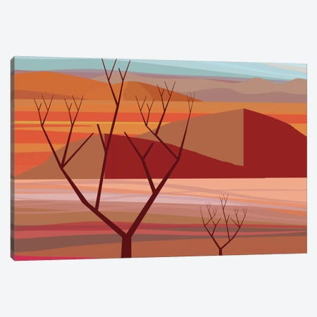 Pinacate Canvas Print #HRK33} by Charles Harker Canvas Art