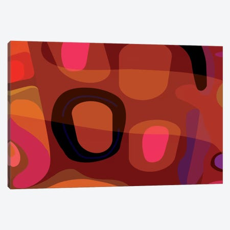 Rust Red Canvas Print #HRK39} by Charles Harker Canvas Art