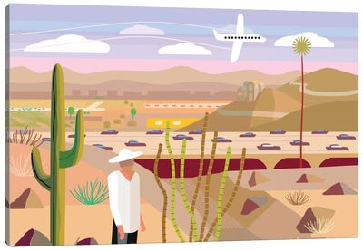 Scottsdale Canvas Art Print