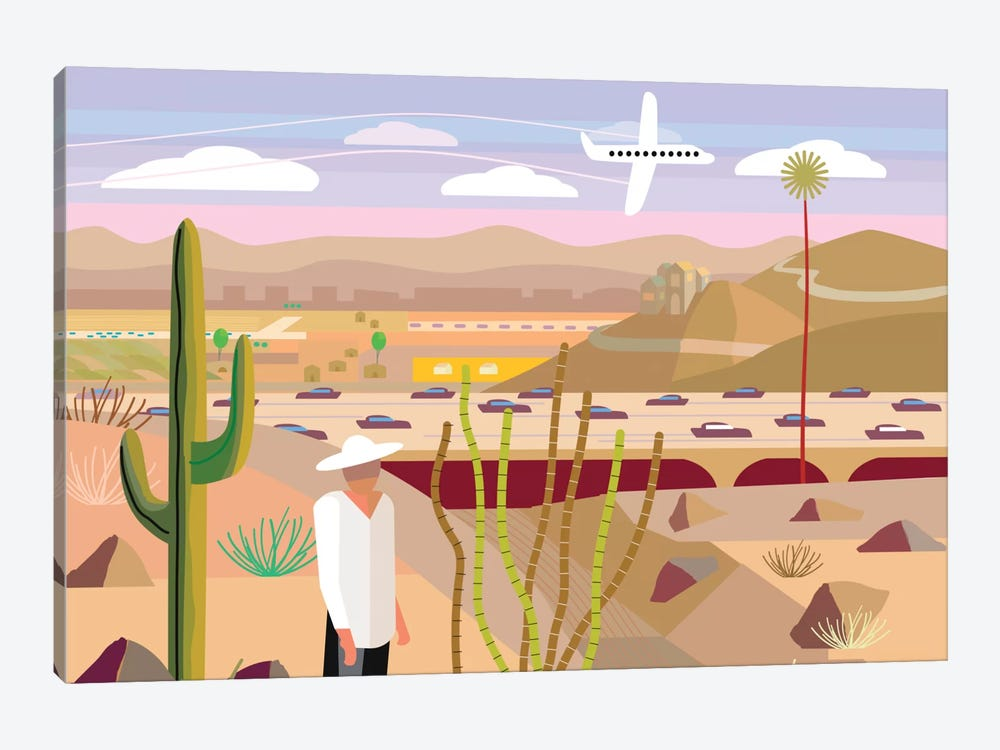Scottsdale by Charles Harker 1-piece Art Print