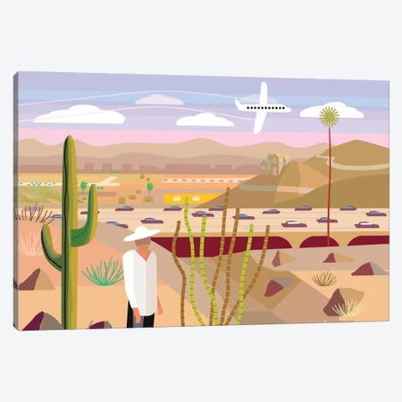 Scottsdale Canvas Print #HRK40} by Charles Harker Canvas Art Print