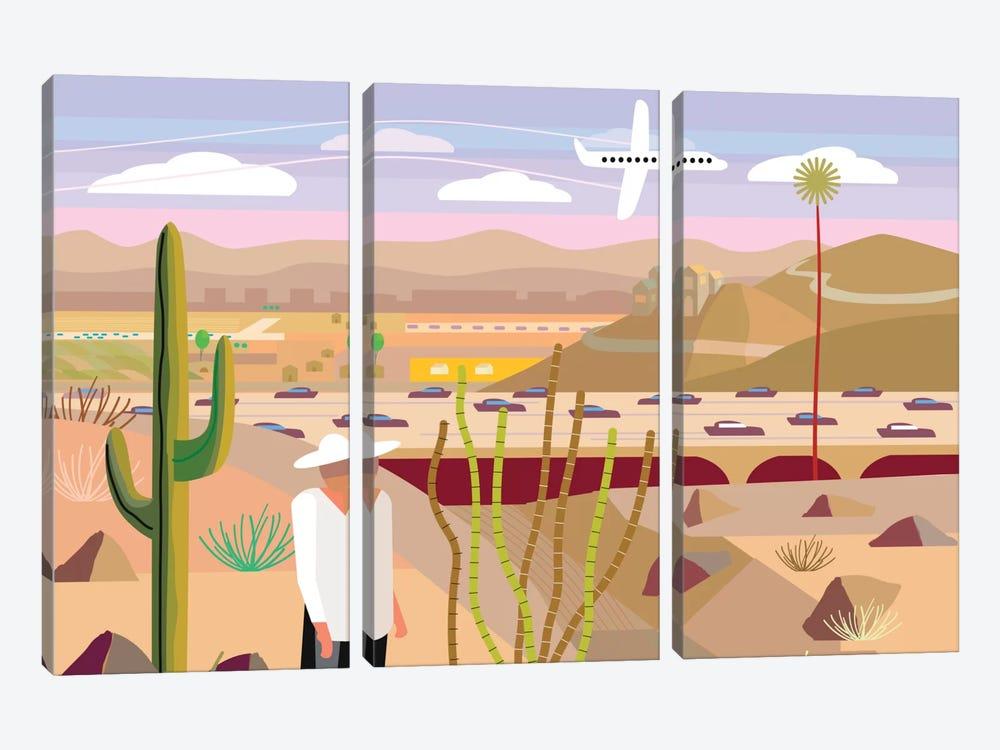 Scottsdale by Charles Harker 3-piece Art Print